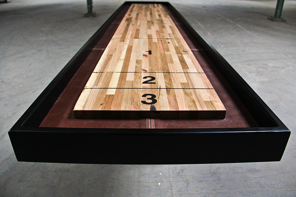 A-frame Shuffleboard Table