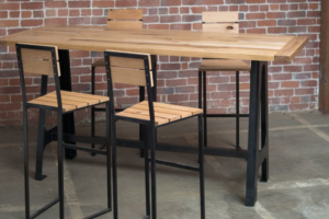 A-Frame Oak High Table