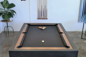 Steel Parsons Billiards Table