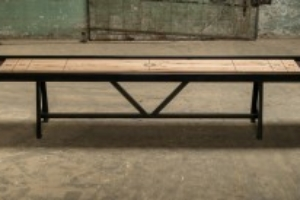 A Frame Shuffleboard Table