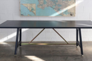 Black A Frame Table
