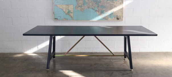Black A Frame Table