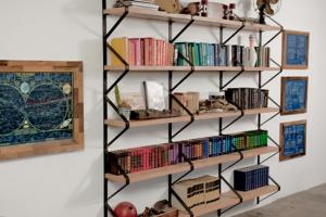 Half Rhombus Shelf