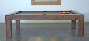 Natural Walnut Parsons Pool Table