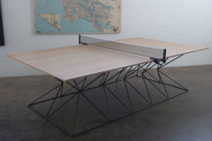 Hourglass Ping Pong Table