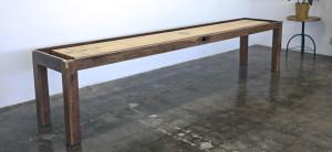 Walnut Parsons Shuffleboard
